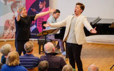Antonio Pappano teaches Bass-baritone ByeongMin Gil and Tae-Yang