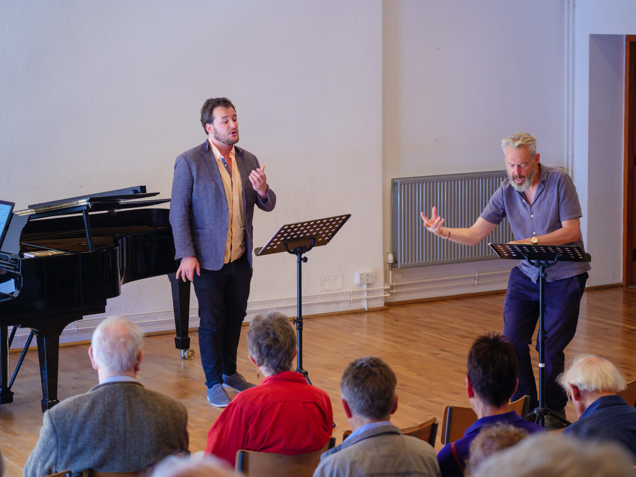 Britten–Pears Young Artist Masterclasses with Mark Padmore