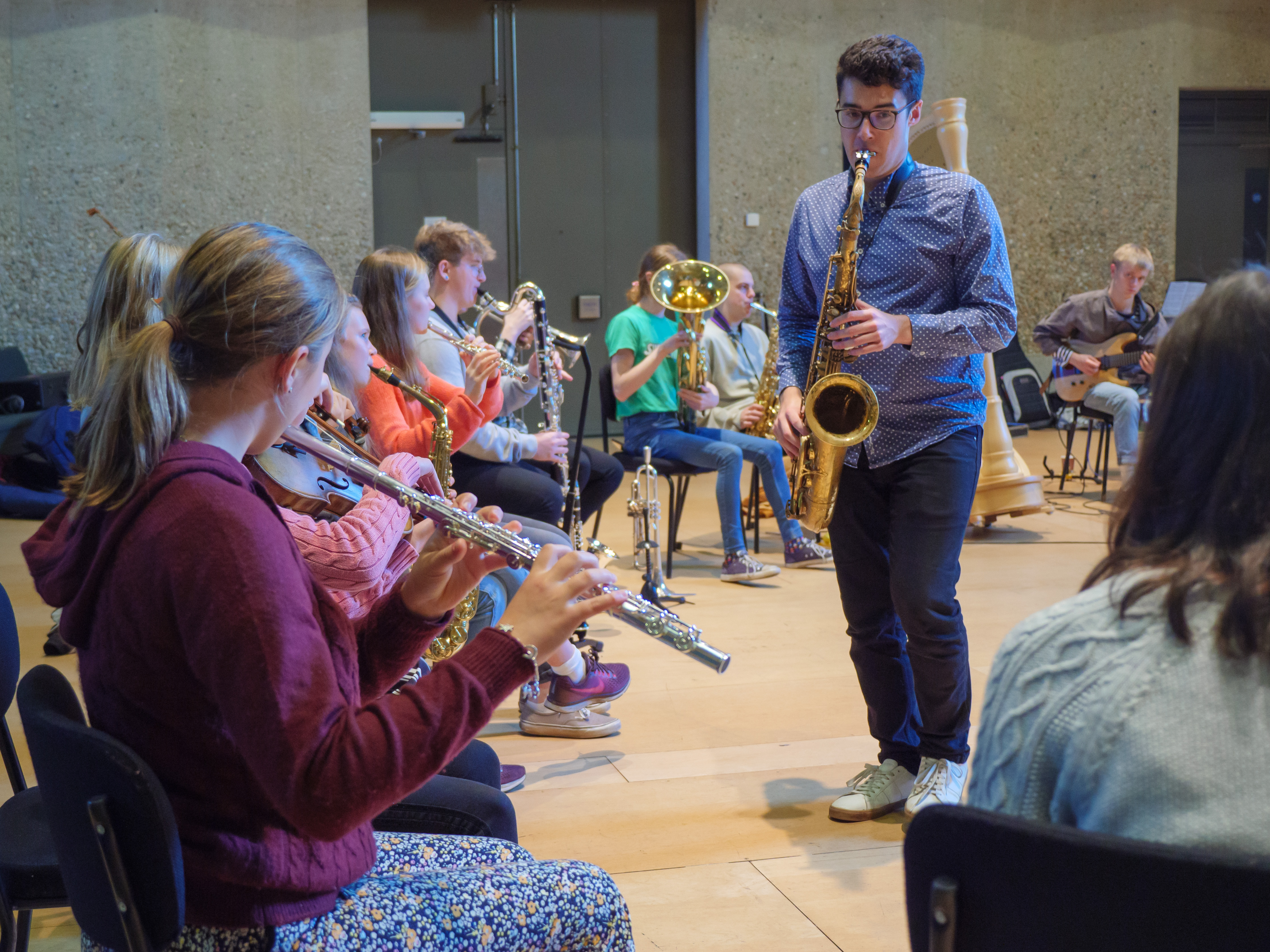 Aldeburgh Young Musicians - Afro-Beat Grooves with Afrik Bawantu